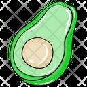 Avocado Alligator Pear Pear Icon