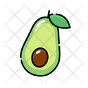 Avocado Icon Fruit Food And Drink Icon