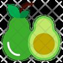 Avocado Fruits Fruit Icon