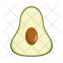 Avocado Fruit Fresh Icon