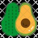 Avocado Vegetable Organic Icon