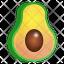 Healthy Food Avocado Fruit Icon