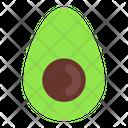 Avocado Nutrition Fresh Icon