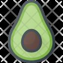 Avocado Food Friut Icon