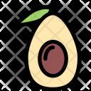 Avocado Vegetables Fruit Icon