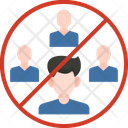 Avoid Community Virus Disease Icon