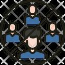 Avoid Community Virus Disease Icon