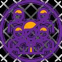 Avoid Community Peoples Icon