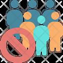 Avoid crowd Icon