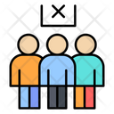 Avoid Crowd Social Distance Pandemic Icon