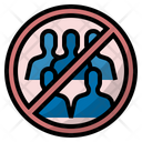 Avoid crowds Icon