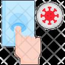 Hand Finger Doorbell Icon