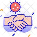Avoid Hand Shake Icon