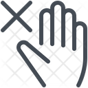 Avoid Hand Touch Icon
