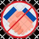 Avoid Handshake Icon