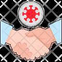 Handshake Forbid Prohibited Icon