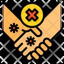 Hands No Handshake Hand Shake Icon