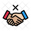Notallowed Handshake Restricted Icon