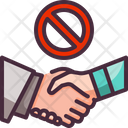 Hand Shaking Touch Icon