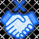 No Handshake Avoid Handshake Covid 19 Icon