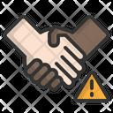 Shake Hand Handshake Touch Icon