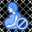 Avoid Pregnant Lady Icon