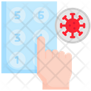 Hand Finger Elevator Icon