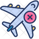 Avoid Travel Icon