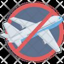Air Travel Avoid Coronavirus Icon