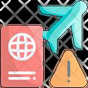 Travel Avoid Stop Icon