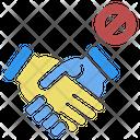 Avoiding Handshake Prevention Icon