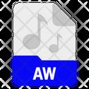 Aw file Icon