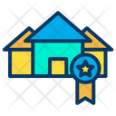Awarded House Best House Award New House Award Icon