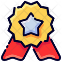 Award Badge Buke Icon