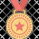 Award Emblem Gold Medal Icon