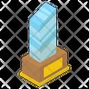 Glass Award Glass Certificate Glass Trophy Icon