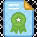 Award Badge File Icon