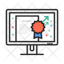 Award Certificate Document Icon