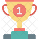 Award Ceremony Leaderboards Winner Trophy Icon