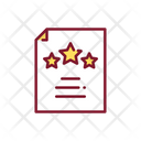 Award Certificate Certificate Star Certificate Icon