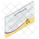 Award Certificate Certificate Deed Icon