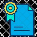 Award Document Icon