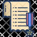 Award Documentation Badge Medal Icon