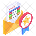 Awarded Mail Icon