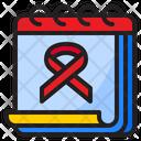 Awareness Day Awareness Ribbon Icon