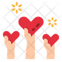 Help Share Love Icon