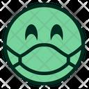Green Awareness Coronavirus Icon
