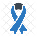 Ribbon Aids Cancer Icon