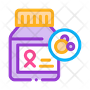 Cancer Pills Disease Icon