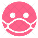 Pink Awareness Mask Icon